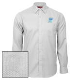 Red House White Diamond Dobby Long Sleeve Shirt-CUNY SPH Square