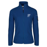 Columbia Ladies Full Zip Royal Fleece Jacket-CUNY SPH Square