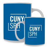 Full Color White Mug 15oz-CUNY SPH Square