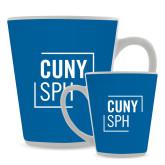 Full Color Latte Mug 12oz-CUNY SPH Square