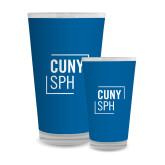 Full Color Glass 17oz-CUNY SPH Square