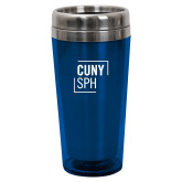 Solano Acrylic Blue Tumbler 16oz-CUNY SPH Square