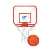 Mini Basketball & Hoop Set-CUNY SPH Square