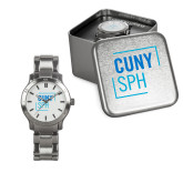 Ladies Stainless Steel Fashion Watch-CUNY SPH Square