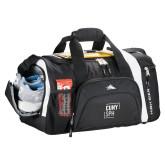 High Sierra Black 22 Inch Garrett Sport Duffel-CUNY SPH Square