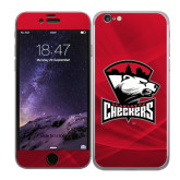 iPhone 6 Skin-Charlotte Checkers - Offical Logo
