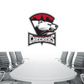 2 ft x 4 ft Fan WallSkinz-Charlotte Checkers - Offical Logo