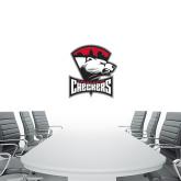 1.5 ft x 3 ft Fan WallSkinz-Charlotte Checkers - Offical Logo