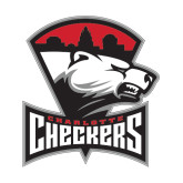 Medium Decal-Charlotte Checkers - Offical Logo