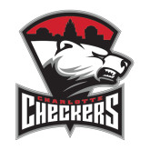 Large Decal-Charlotte Checkers - Offical Logo