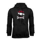 Black Fleece Hood-Charlotte Checkers - Offical Logo