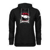 Adidas Climawarm Black Team Issue Hoodie-Charlotte Checkers - Offical Logo