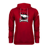 Adidas Climawarm Red Team Issue Hoodie-Charlotte Checkers - Offical Logo