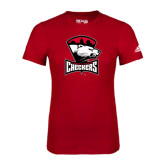 Adidas Red Logo T Shirt-Charlotte Checkers - Offical Logo