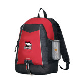 Impulse Red Backpack-Charlotte Checkers - Offical Logo