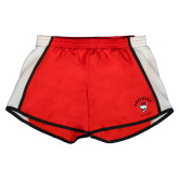 Ladies Red/White Team Short-Arched Checkers Design