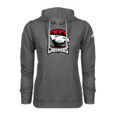 Adidas Climawarm Charcoal Team Issue Hoodie-Charlotte Checkers - Offical Logo