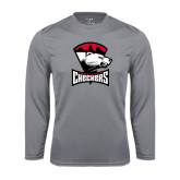 Syntrel Performance Steel Longsleeve Shirt-Charlotte Checkers - Offical Logo