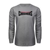 Grey Long Sleeve T Shirt-Charlotte Checkers