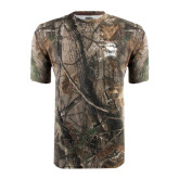 Realtree Camo T Shirt-Charlotte Checkers - Offical Logo