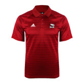 Adidas Climalite Red Jaquard Select Polo-Charlotte Checkers - Offical Logo
