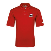 Under Armour Red Performance Polo-Charlotte Checkers - Offical Logo