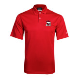 Nike Dri Fit Red Pebble Texture Sport Shirt-Charlotte Checkers - Offical Logo