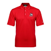 Nike Sphere Dry Red Diamond Polo-Charlotte Checkers - Offical Logo