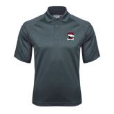 Charcoal Dri Mesh Pro Polo-Charlotte Checkers - Offical Logo