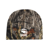 Mossy Oak Camo Fleece Beanie-Charlotte Checkers - Offical Logo