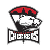 Small Magnet-Charlotte Checkers - Offical Logo