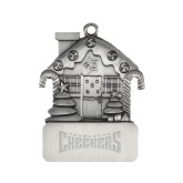 Pewter House Ornament-Charlotte Checkers Engraved