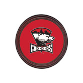 Round Coaster Frame w/Insert-Charlotte Checkers - Offical Logo