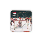 Hardboard Coaster w/Cork Backing 4/set-Surrounding the Goal