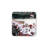 Hardboard Coaster w/Cork Backing 4/set-Celebration