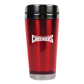 Solano Acrylic Red Tumbler 16oz-Charlotte Checkers