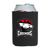 Collapsible Black Can Holder-Charlotte Checkers - Offical Logo
