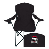 Deluxe Black Captains Chair-Charlotte Checkers - Offical Logo