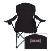 Deluxe Black Captains Chair-Charlotte Checkers