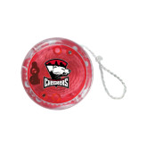 Light Up Red YoYo-Charlotte Checkers - Offical Logo