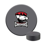 Hockey Puck Stress Reliever-Charlotte Checkers - Offical Logo