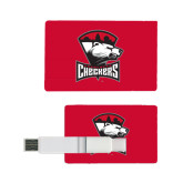 Card USB Drive 4GB-Charlotte Checkers - Offical Logo