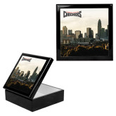 Ebony Black Accessory Box With 6 x 6 Tile-Uptown