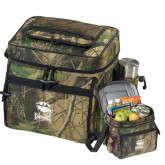 Big Buck Camo Sport Cooler-Charlotte Checkers - Offical Logo