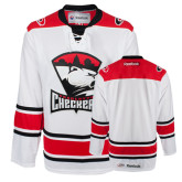Checkers White Hockey Jersey-