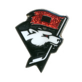 Checkers Alternate Glitter Logo Lapel Pin-