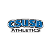 Small Decal-CSUSB Athletics, 6 inches wide