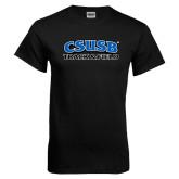 Black T Shirt-Track & Field