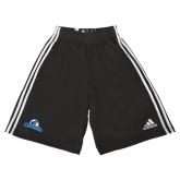 Adidas Climalite Black Practice Short-Primary Logo