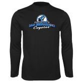 Syntrel Performance Black Longsleeve Shirt-Secondary Logo